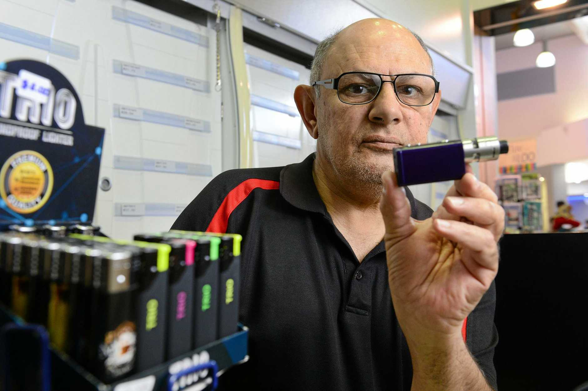 Tobacconist calls for nicotine e-cigarettes to be legal
