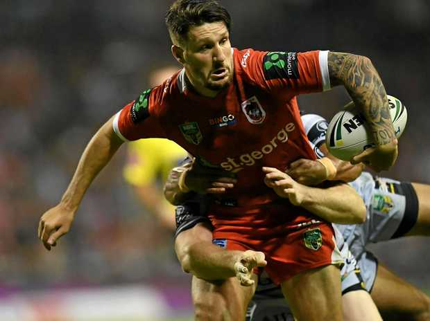 RETURN LOOMING: Gareth Widdop could be back from a knee injury for St George Illawarra