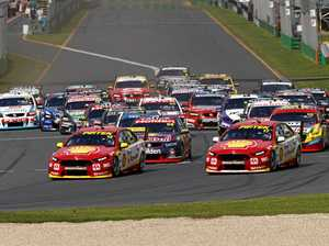 Supercars drivers will race for championship points when the action returns to Albert Park next year.