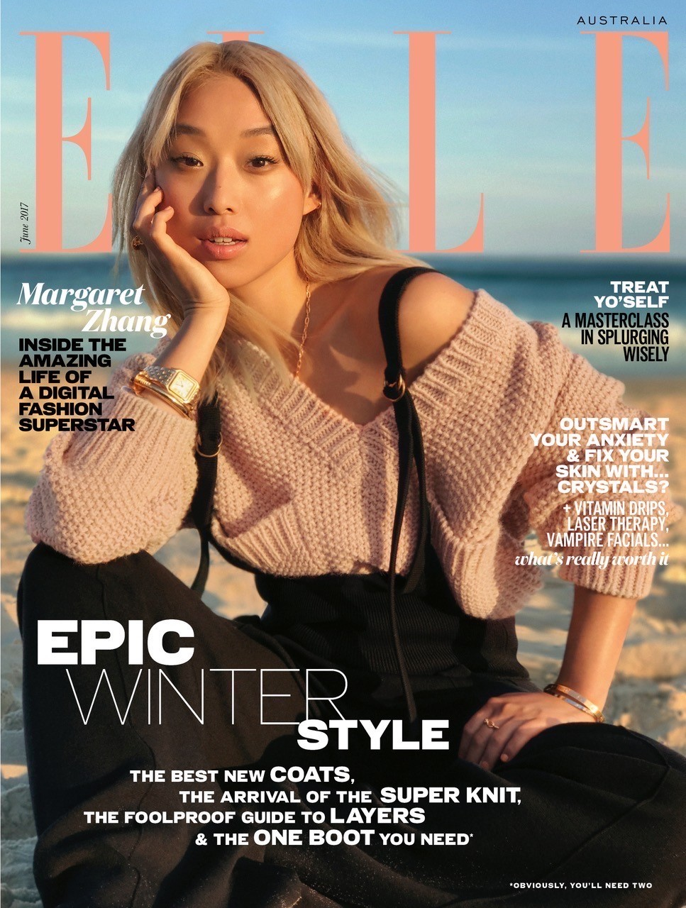 ELLE magazine has shot its latest cover and fashion spread using an iPhone 7 Plus.