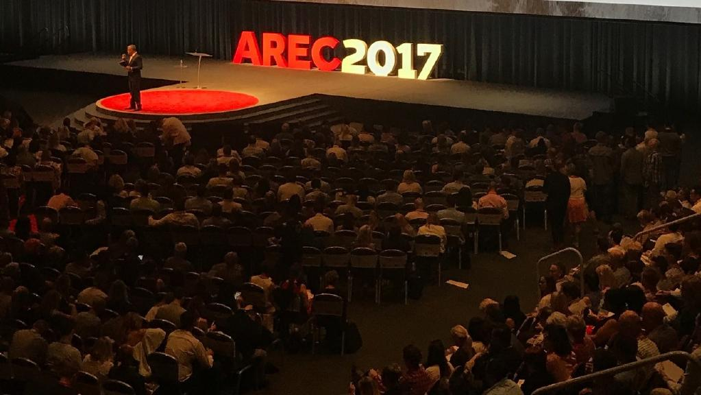 Thousands of real estate agents attended AREC 2017 on the Gold Coast.