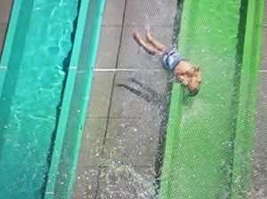 10-year-old boy thrown from waterslide