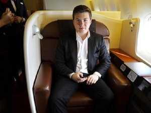 Luxury flights on a maccas wage
