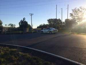 Police officer shot dead, community in lockdown