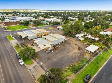 An expression of interest campaign is under way for the land at 138 Yandilla St, Pittsworth.