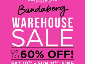 Lorna Jane WAREHOUSE SALE back is finally here - UP TO 60% OFF activewear, giveaways & more!