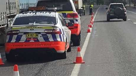 Police stopped a number of vehicles on the Queensland and New South Wales border over the weekend.
