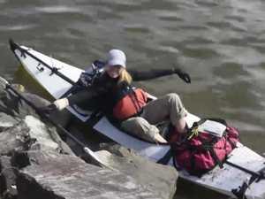 Hayley Talbot river journey