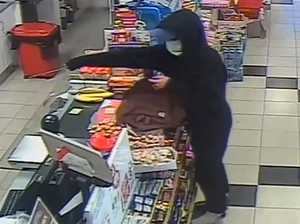 CCTV captures armed men storming Coast store