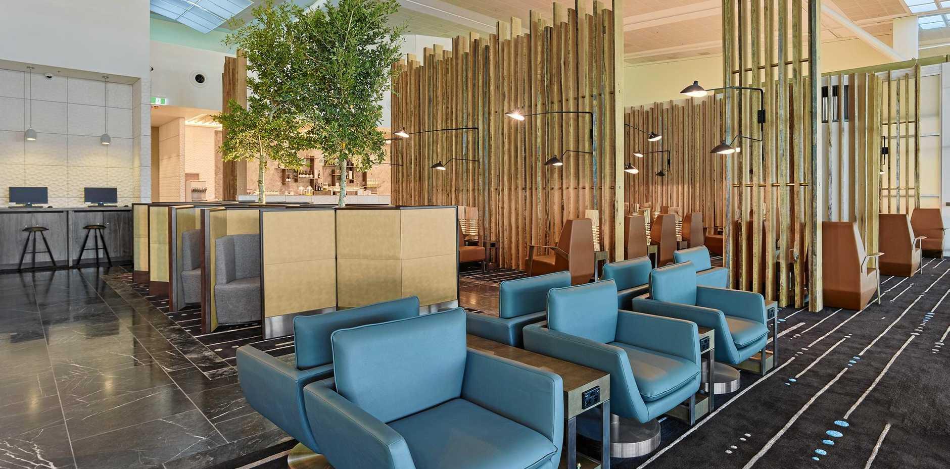 HELPING SENIORS: Brisbane International airport now has a Plaza Premium lounge.