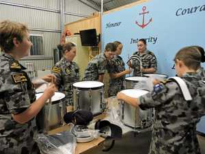 Navy mates drum up gifts for cadets