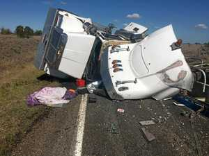 Trio of truck crashes brings south-west roads to a stop