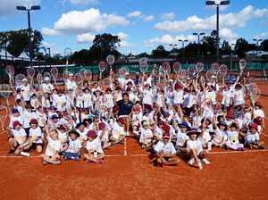 Tennis legend serves up life lessons