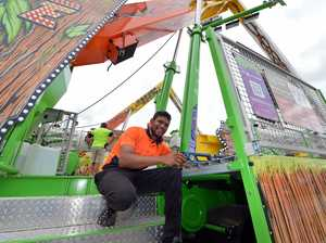 Bundaberg District Show preparations
