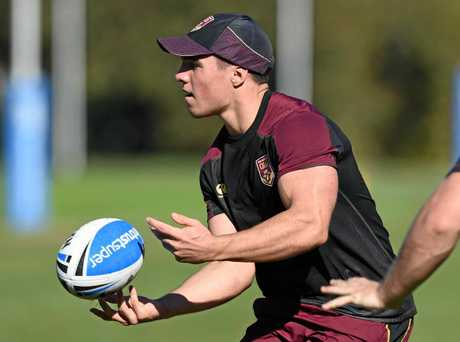 TRAINING TRACK: Highfields junior Brodie Croft trains with the Queensland under 20s.