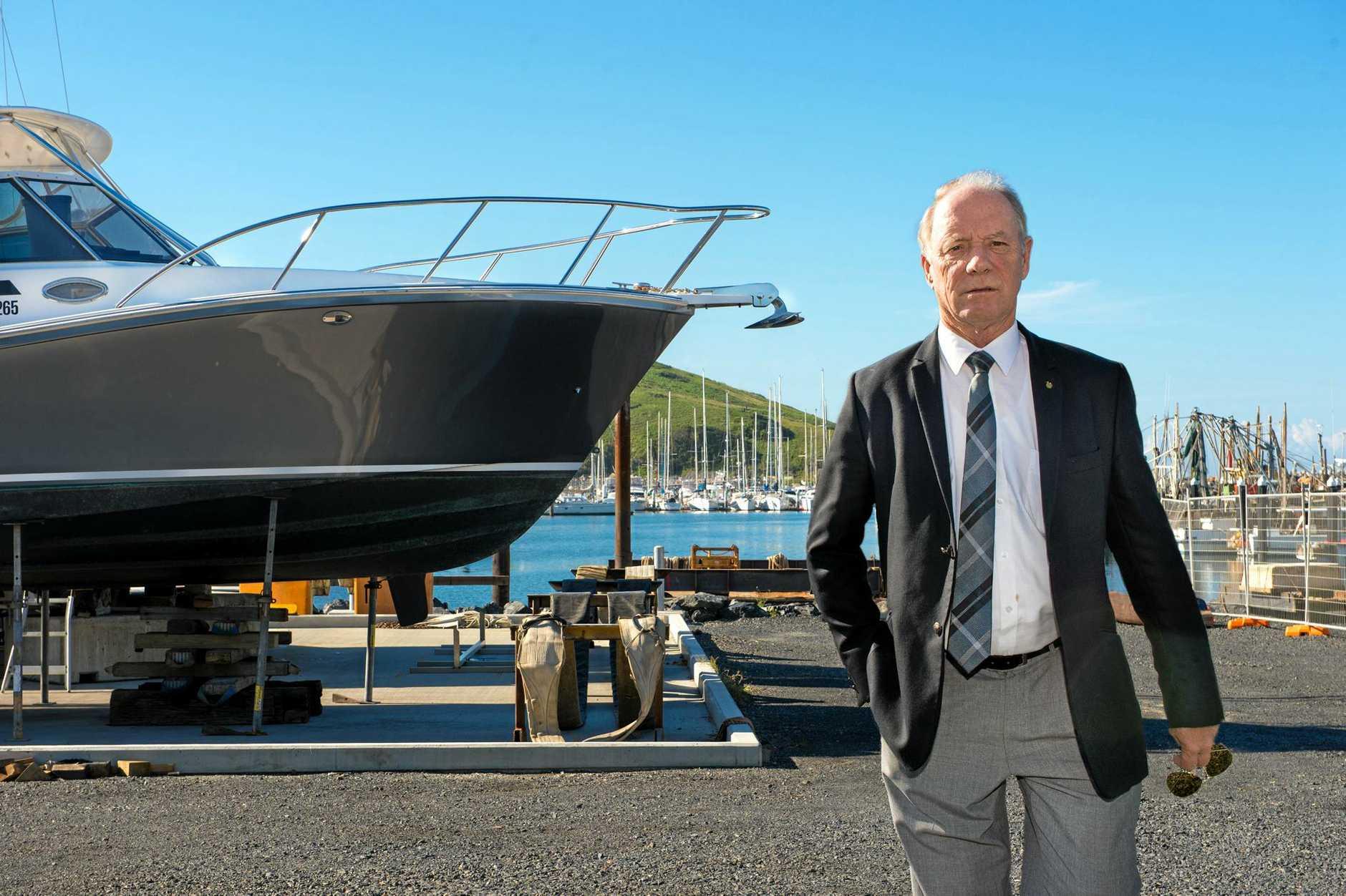 Coffs Harbour MP Andrew Fraser opposes development east of Jordan Esplanade.