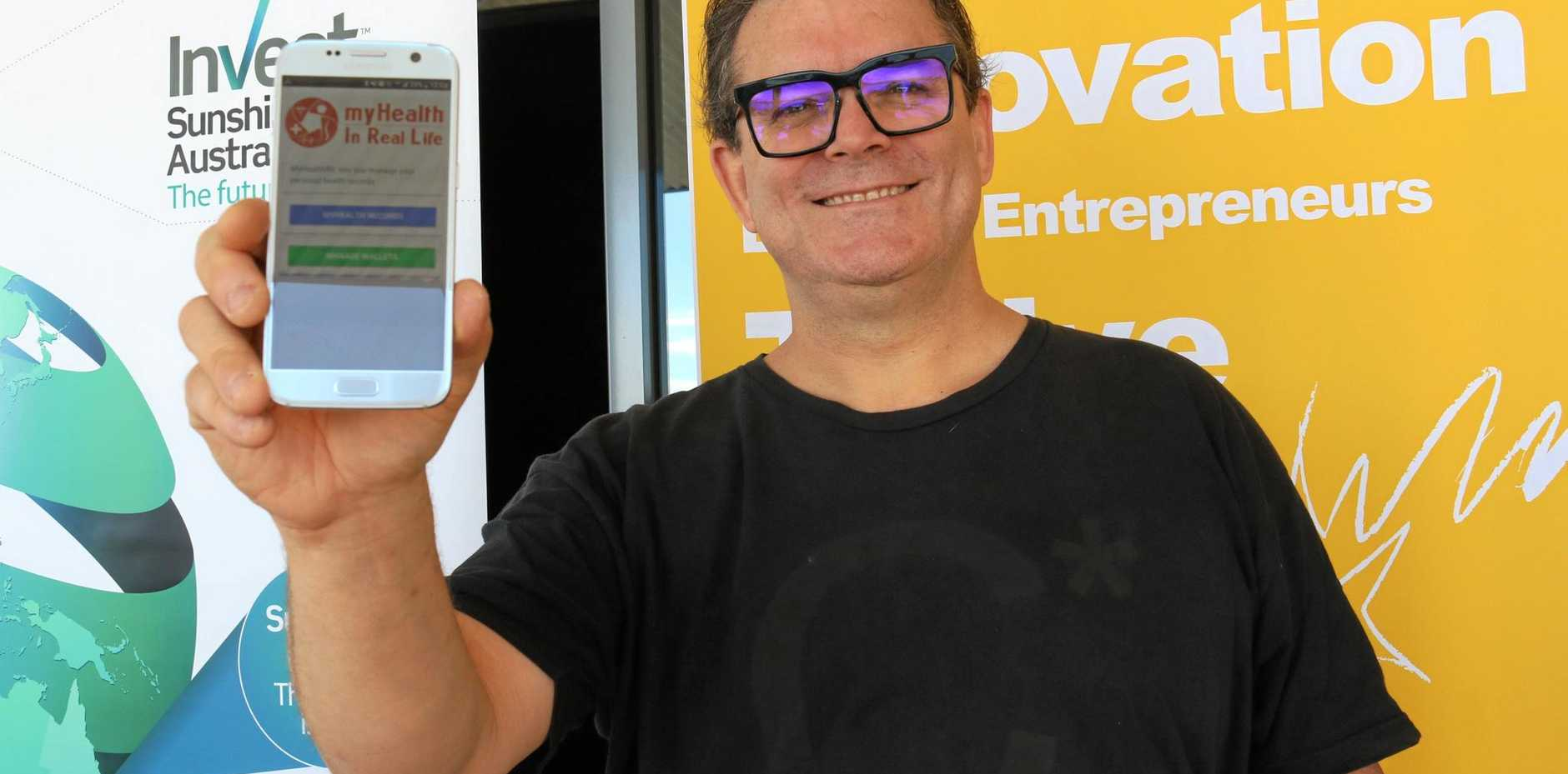 PITCH IT: Ivan Jasenovic was one of 10 entrepreneurs who showcased their business at the Innovation Centre's Pitch for Investment Competition.