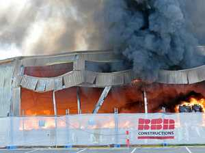 Maroochy Beach Gymnastics Club is destroyed by fire.