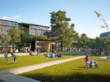 Sekisui's planned new parkland for its Yaroomba Beach development.