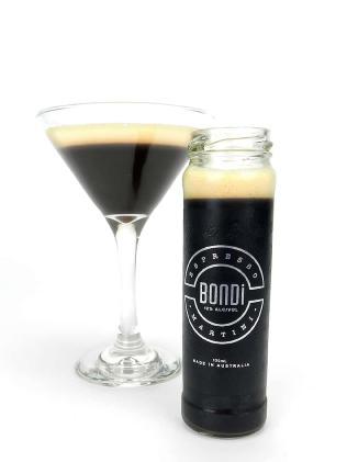 The new Bondi Espresso Martini developed by three Queensland mates.