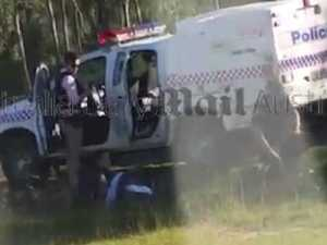 Police shooter in siege at Gatton