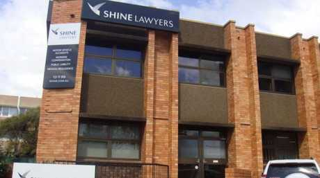 FOR SALE: The building housing law firm Shine Lawyers is on the market for $2 million.