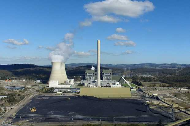 A general view of the Mt Piper coal fired power station near, Lithgow, NSW, Monday, May 8, 2017. (AAP Image/Dan Himbrechts) NO ARCHIVING