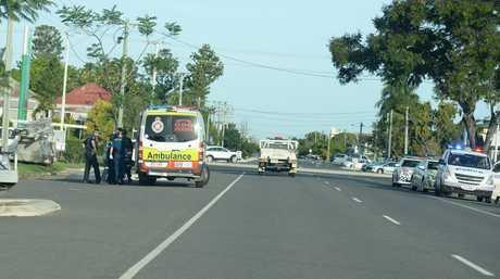 Emergency services at a Kent Street address.