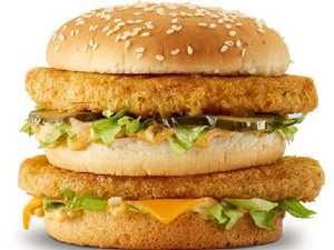 Chicken big macs and shaker fries are now in Toowoomba