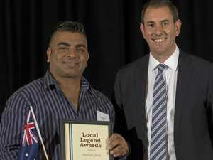 Local Legend Martin Ram recognised for his dedication to Logan's elders