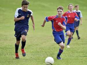 Junior Sport stars in action