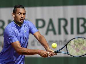 Efficient Kyrgios defeats German in Paris