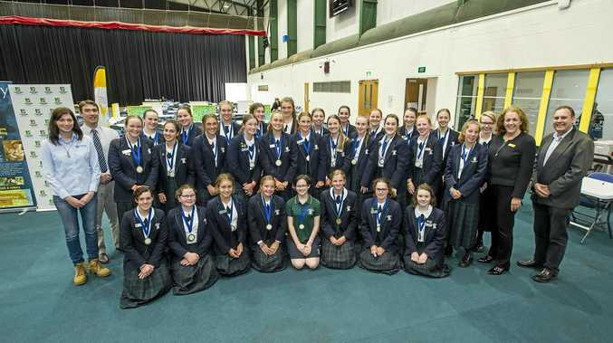 The St Ursula's College Toowoomba team took out the 2017 Darling Downs Science and Engineering Challenge.