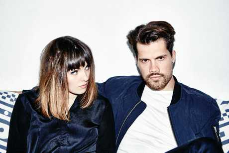 Josephine Vander Gutch and Anthony West are British electronic duo Oh Wonder.