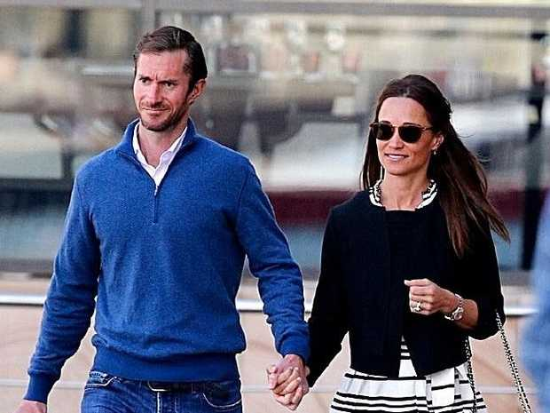 Pippa Middleton and James Matthews spotted honeymooning in Sydney