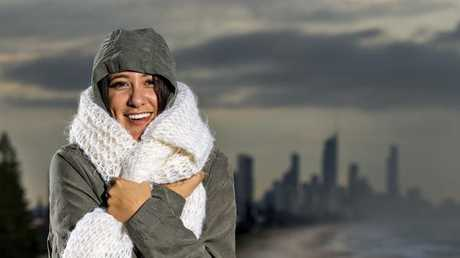 Rug up this morning, it's cold out there! Picture: Jerad Williams