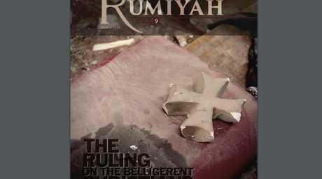 The ninth edition of the Islamic State propaganda magazine Rumiyah.