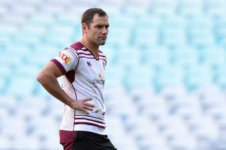 Cameron Smith at Maroons camp. Photo: AAP