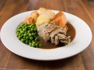 A nutritious winter meal – Roast beef - is served up by Meals on Wheels.