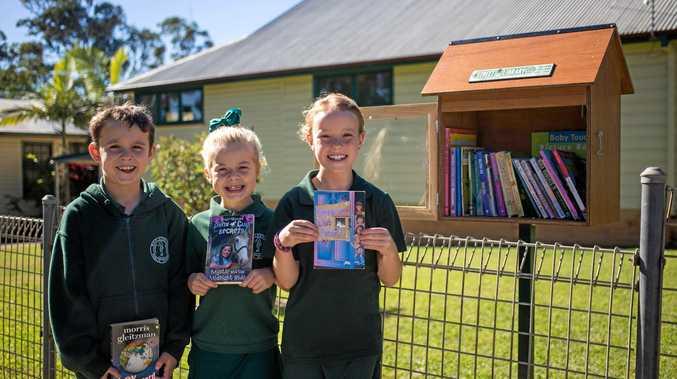 Woolgoolga public school have recently opened their street library.