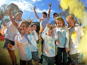 Cool idea inspires Colour Run