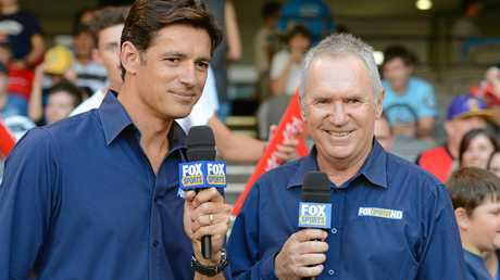 Fox Sports experts Brendon Julian (left) and Alan Border.
