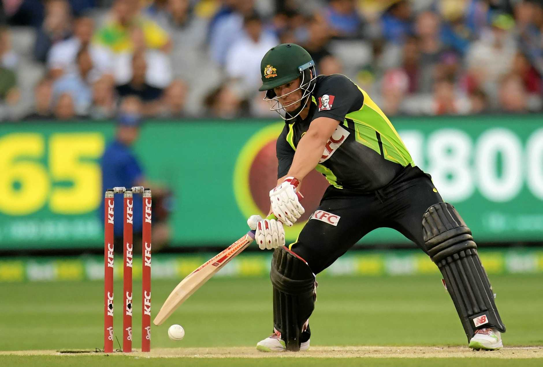Aaron Finch of Australia could be under pressure if he fails to fire in the Champions Trophy.