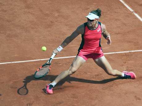 Stosur  at Roland Garros in Paris