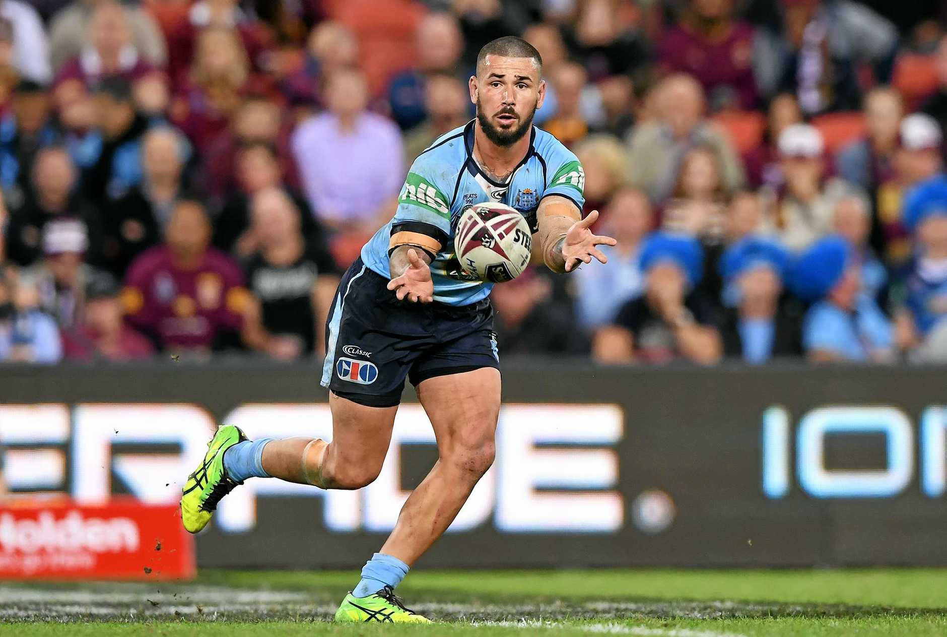 Nathan Peats of the NSW Blues.