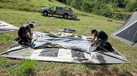 Camp Hire Australia will even pitch the tent for you.