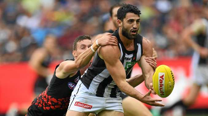 Alex Fasolo of the Magpies.