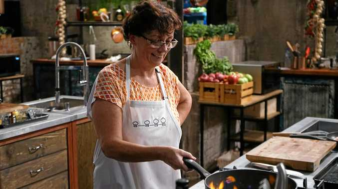 Hervey Bay's Collette Mitrega cooks up a storm on SBS show The Chef's Line.
