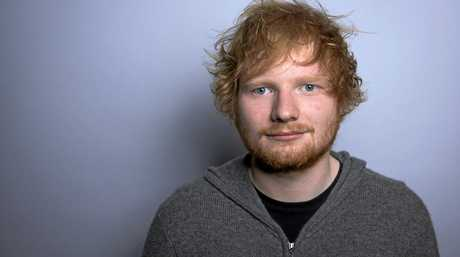 Ed Sheeran poses for a portrait.