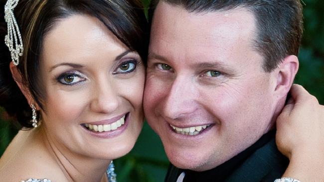 Brett and Susan Forte on their wedding day.